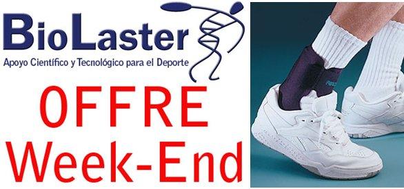 Offre Week-End chez Biolaster: Chevillière Aircast AirHeel