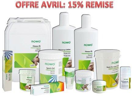 Avril: Mois de ROWO dans Biolaster. 15 % de Remise sur Tous les Produits
