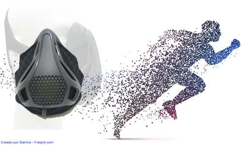 Máscara Entrenamiento Respiratorio y Uso en HIIT para Mejorar el Rendimiento en Ejercicio