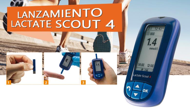 Lactate Scout 4, Analizador de Lactato de Nueva Generación