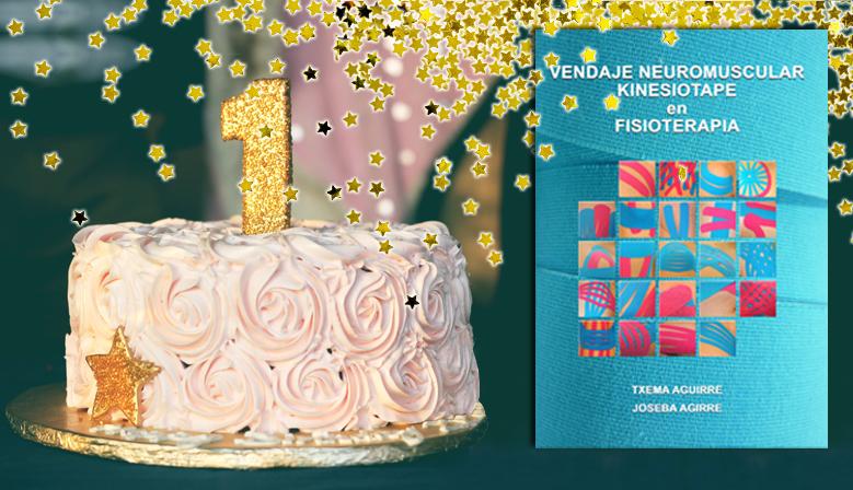 "Aniversario del libro ""Vendaje Neuromuscular Kinesiotape en Fisioterapia"""