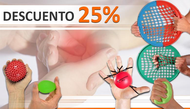 Productos para la rehabilitación de manos y dedos en oferta