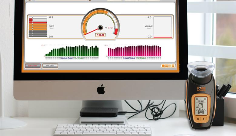 Software Breathelink de los POWERbreathe K5 y K4 compatible para Mac