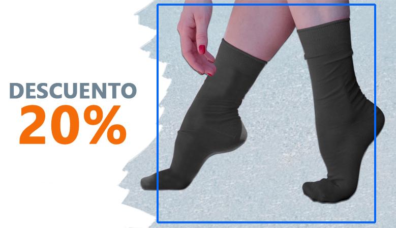 ¡Los calcetines para pies sensibles en oferta!