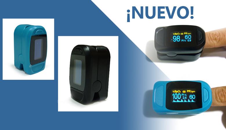 ¡Nuevo Producto! Pulsioxímetro de Dedo M130, para medir la Saturación Arterial de Oxígeno