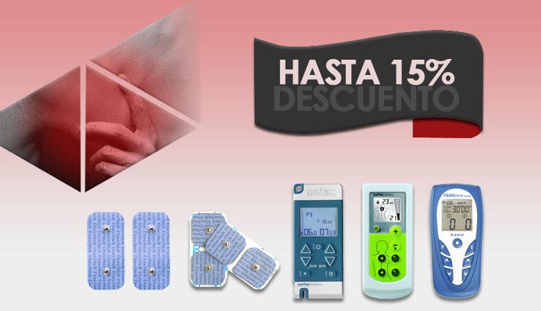 [Oferta] Electroestimuladores TENS y sus consumibles