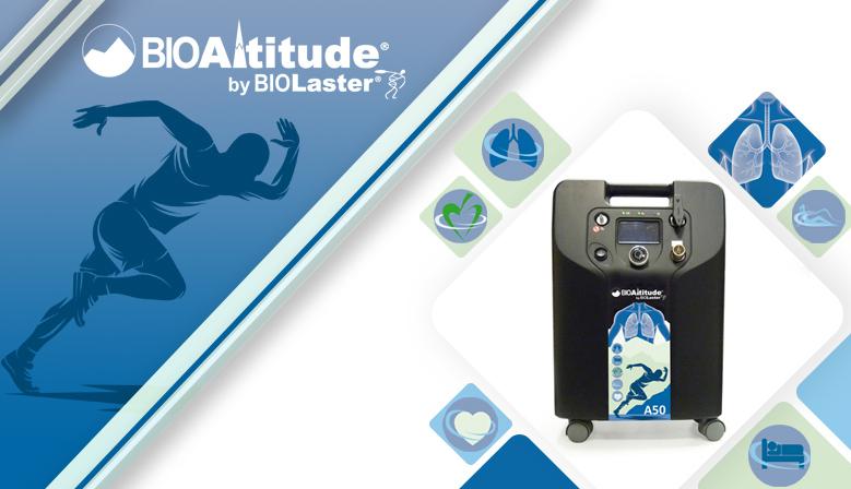 Nuevo generador de Hipoxia / Hiperoxia BioAltitude® A50