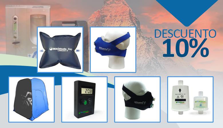 ¿Quieres complementar tu entrenamiento en Hipoxia? ¡Descubre los accesorios BioAltitude®!