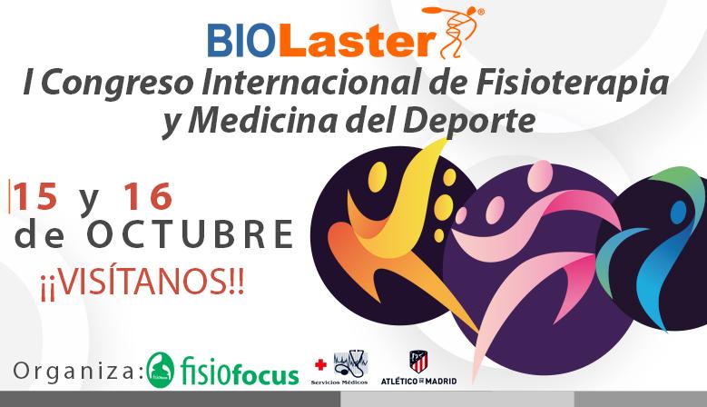Biolaster Presente en el I Congreso Internacional de Fisioterapia y Medicina del Deporte que se Celebrará en el Wanda Metropolitano