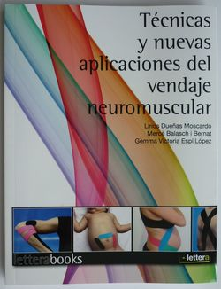 vendaje neuromuscular kinesiology tape taping temtex kinesiologia manual aplicaciones cross tape