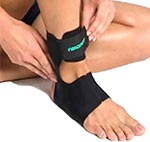 contention air airheel tendinopathie achilles fasciite plantar